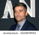 """Small photo of LOS ANGELES - FEB 13: Oscar Isaac at the """"Annihilation"""" Los Angeles Premiere at Village Theater on February 13, 2018 in Westwood, CA"""