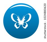 unknown butterfly icon vector... | Shutterstock .eps vector #1024883620
