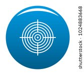aiming radar icon vector blue...   Shutterstock .eps vector #1024883668