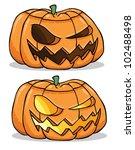 jack o lanterns | Shutterstock .eps vector #102488498