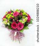 bouquet of flowers | Shutterstock . vector #1024888210