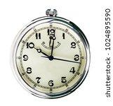 stopwatch on white background... | Shutterstock . vector #1024895590