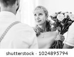 the mother in law sensually... | Shutterstock . vector #1024895794