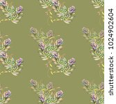 summer pattern for textile and... | Shutterstock . vector #1024902604