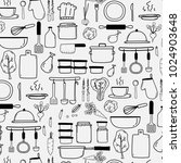 pattern with line hand drawn... | Shutterstock .eps vector #1024903648