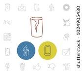 universal icons set with folder ...