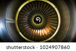 close up of fan engine and... | Shutterstock . vector #1024907860