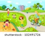 playground | Shutterstock .eps vector #102491726
