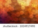 dark orange vector natural... | Shutterstock .eps vector #1024917490