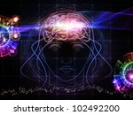 backdrop composed of head... | Shutterstock . vector #102492200