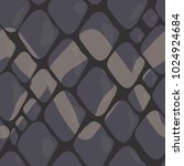 vector pattern of grey snake... | Shutterstock .eps vector #1024924684