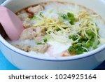 Porridge With Pork Egg