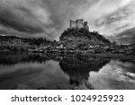 almourol medieval castle in... | Shutterstock . vector #1024925923