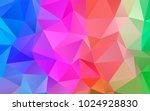 light multicolor  rainbow... | Shutterstock .eps vector #1024928830