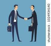 business deal vector... | Shutterstock .eps vector #1024934140