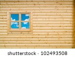 Wooden Cottage Wall Of Chalet...