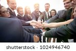 large group of business people... | Shutterstock . vector #1024946740