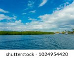outdoor view of some boats... | Shutterstock . vector #1024954420