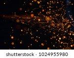 light from cutting steel    Shutterstock . vector #1024955980