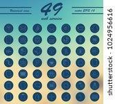 service line icons vector set | Shutterstock .eps vector #1024956616