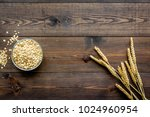 cereals concept. oatmeal in...   Shutterstock . vector #1024960954