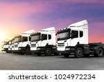 truck transportation import... | Shutterstock . vector #1024972234