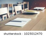 final test university table in...   Shutterstock . vector #1025012470