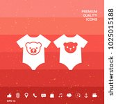 baby rompers icon   Shutterstock .eps vector #1025015188