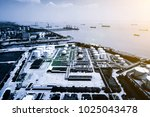 oil industry refinery factory   ... | Shutterstock . vector #1025043478
