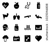 solid vector icon set   heart... | Shutterstock .eps vector #1025046808