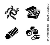 confectionery vector icons | Shutterstock .eps vector #1025066830