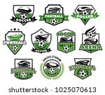 soccer club or football college ... | Shutterstock .eps vector #1025070613