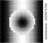 geometric shape halftone vector ... | Shutterstock .eps vector #1025071720