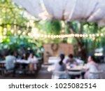 blurred background of outdoor... | Shutterstock . vector #1025082514