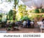 blurred background of outdoor... | Shutterstock . vector #1025082883
