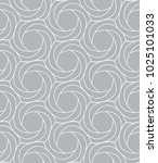 astract grey ornament pattern | Shutterstock .eps vector #1025101033