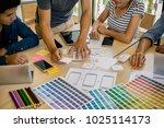 designer drawing web template...