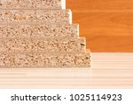 wooden boards planked on the... | Shutterstock . vector #1025114923