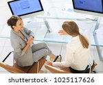 view from the top rear.business ... | Shutterstock . vector #1025117626