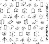 vector pattern of geometric... | Shutterstock .eps vector #1025119060