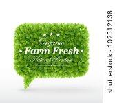 bubble for speech        green... | Shutterstock .eps vector #102512138