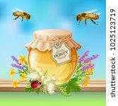 Flying Bees And Ladybird Beetl...