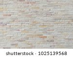 old white brick wall texture... | Shutterstock . vector #1025139568