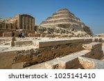saqqara  egypt   march 12  2010 ...   Shutterstock . vector #1025141410