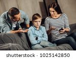 clear explanation. strict young ... | Shutterstock . vector #1025142850