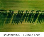 aerial view of a road crossing...   Shutterstock . vector #1025144704