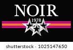 slogan graphic with stripe | Shutterstock .eps vector #1025147650