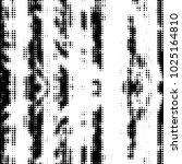 abstract grunge grid polka dot... | Shutterstock . vector #1025164810