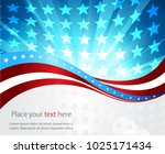 abstract image of the american...   Shutterstock .eps vector #1025171434
