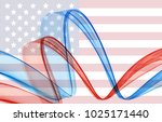 abstract image of the american...   Shutterstock .eps vector #1025171440